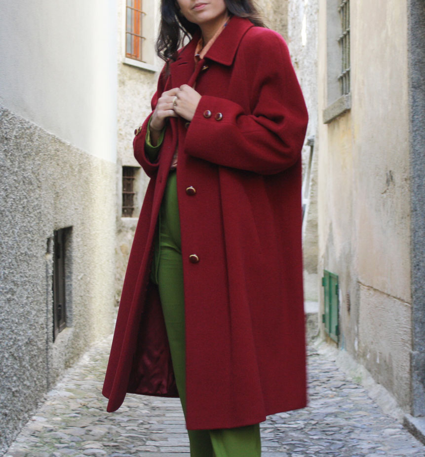 cappotto bordeaux 1 - VINTAGE