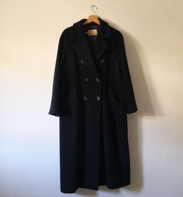 cappotto navy max co 3 600x646 - Cappotto blu navy Max&co