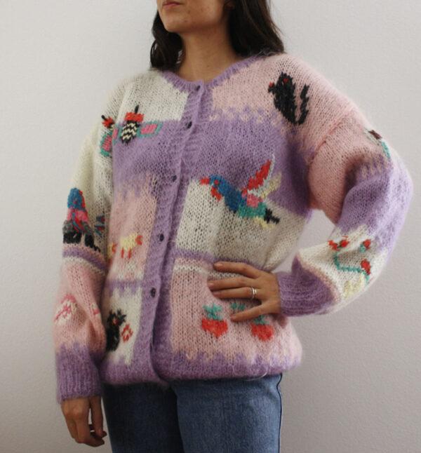 cardigan delicioius 1 600x646 - Maglione patchwork