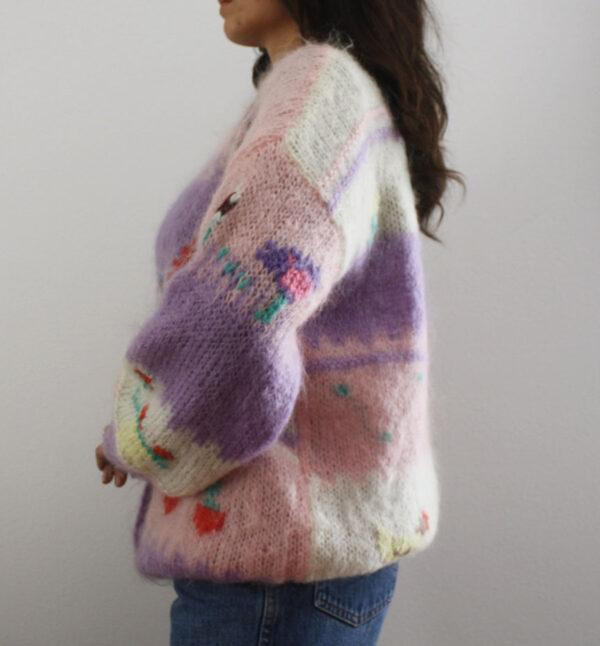 cardigan delicious 4 600x646 - Maglione patchwork