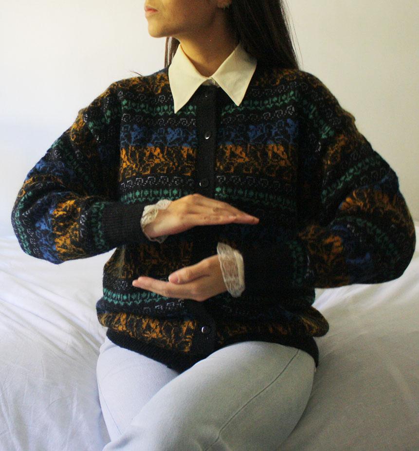 maglione azteco - Top VINTAGE