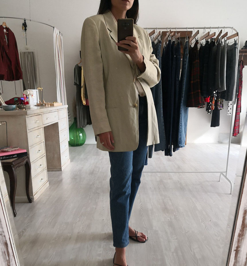 blazer max mara - Giacche VINTAGE