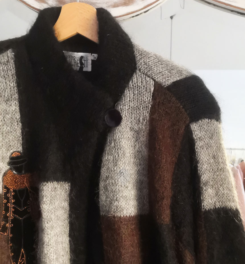 cardigan mohair 3 - Giacche VINTAGE