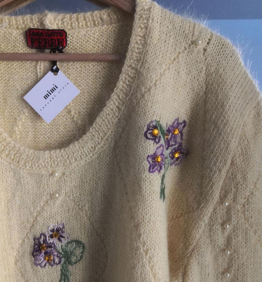 maglione giallo 2 - VINTAGE