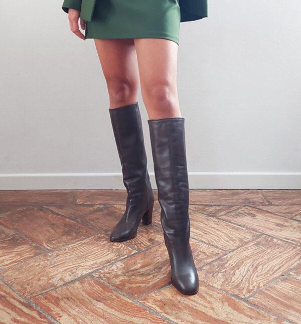 stiv 3 600x646 - Stivali in vera pelle vintage